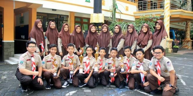 Pramuka Matsanewa Raih Enam Piala Dirganala Scout Competition