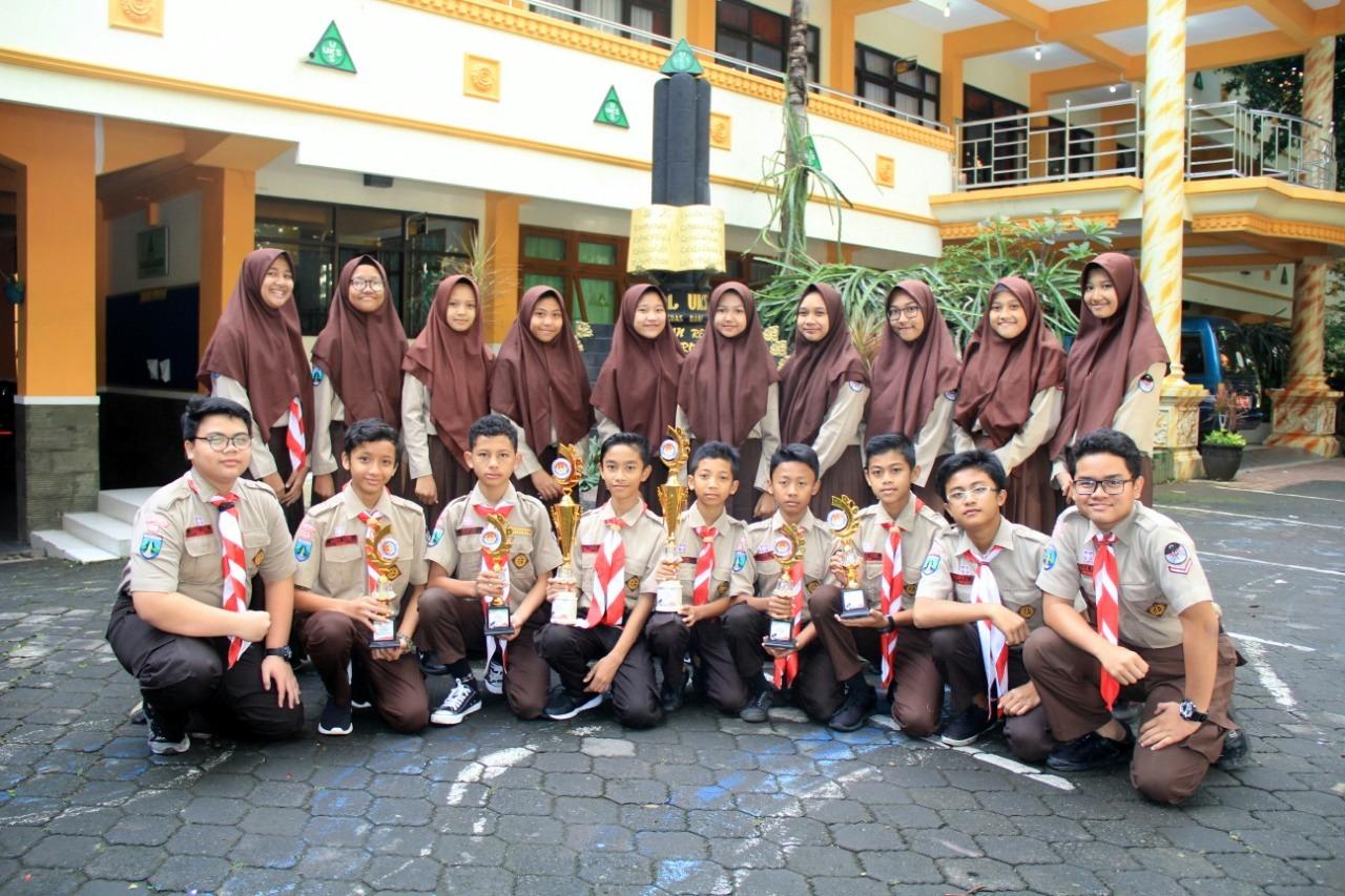 Lomba Pramuka MTsN 1 Kota Malang