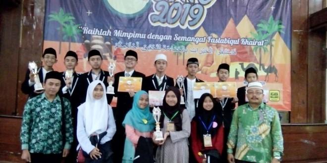 MTsN 1 Kota Malang Raih Empat Piala IONIC 2019