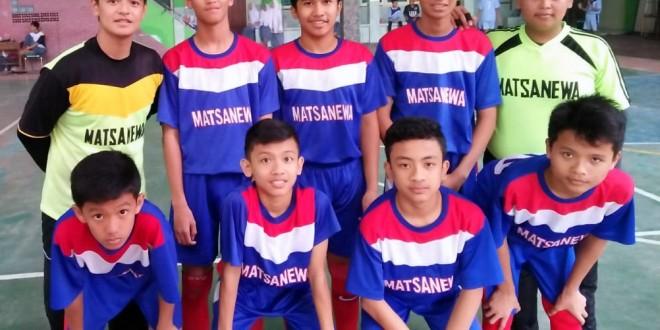 Tim Matsanewa Tampil Gemilang di Turnamen Futsal Se-Malang Raya