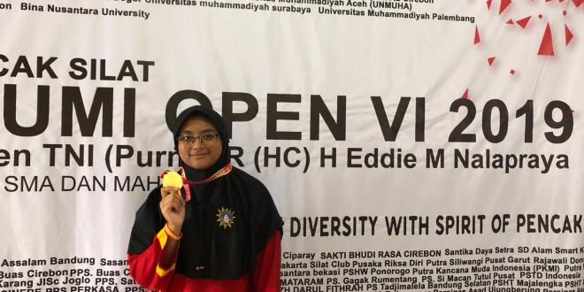 Siswi MTsN 1 Kota Malang Raih Medali Emas Kejuaraan Internasional Pencak Silat