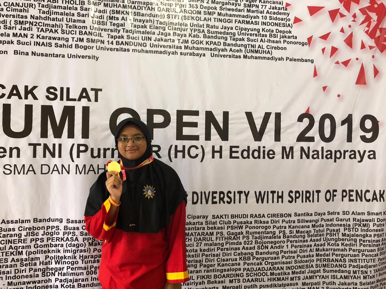 Juara Pencak Silat - MTsN 1 Kota Malang
