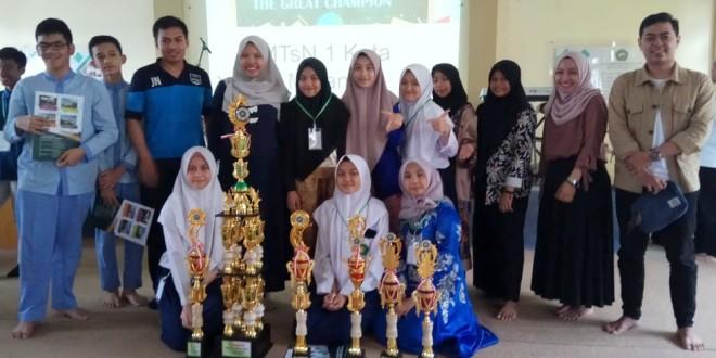 MTsN 1 Kota Malang Raih Juara Umum Super Skill Learning Festival
