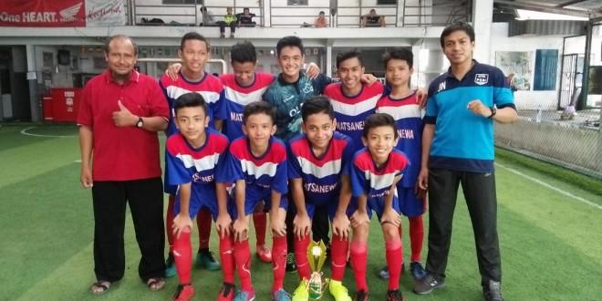 Tim Futsal Matsanewa Raih Juara 1 Porseni Kota Malang