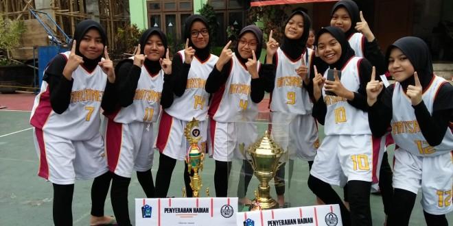 Tim Basket Putri Matsanewa Raih Gelar GandaSmanda Cup 2019