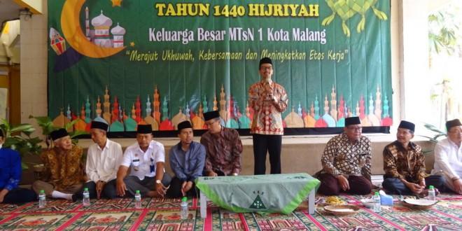 Halalbihalal Keluarga Besar MTsN 1 Kota Malang