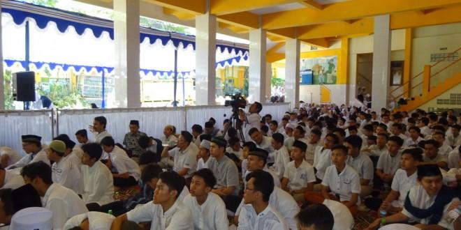 Semarak Peringatan Isra Mikraj di MTsN 1 Kota Malang