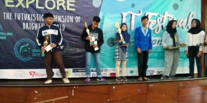 MTsN 1 Kota Malang Raih Tiga Piala IT Festival 2019