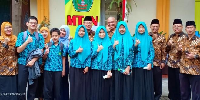 Enam Siswa MTsN 1 Kota Malang Ikuti KSM Tingkat Jawa Timur