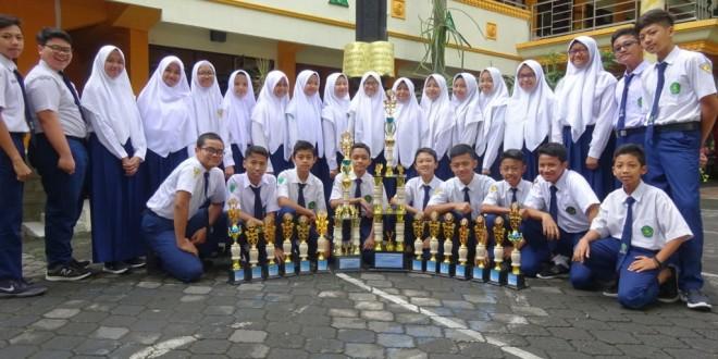 MTsN 1 Kota Malang Raih 302 Prestasi di Tahun Pelajaran 2018/2019