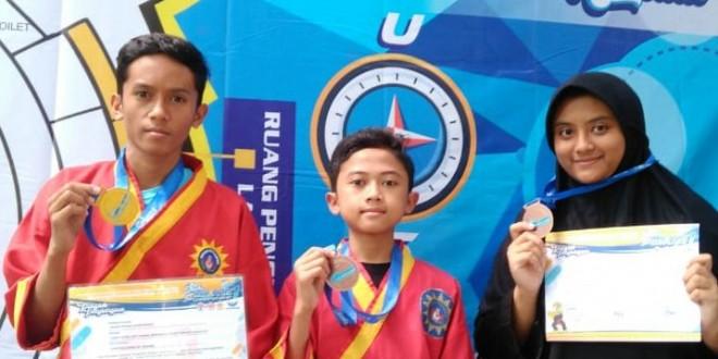 Siswa Matsanewa Raih Tiga Medali Kejuaraan Pencak Silat Malang Championship 1