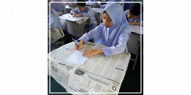 Bekerja Sama dengan Jawa Pos, MTsN 1 Kota Malang Adakan Try Out Kejujuran