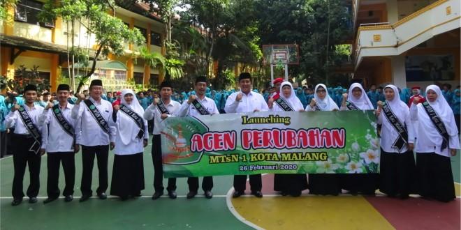Kakankemenag Kukuhkan Agen Perubahan MTsN 1 Kota Malang