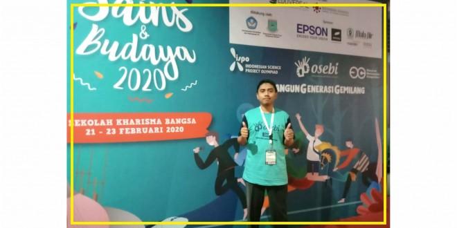 Kisah Guru MTsN 1 Kota Malang Ikuti Seminar Festival Sains dan Budaya 2020