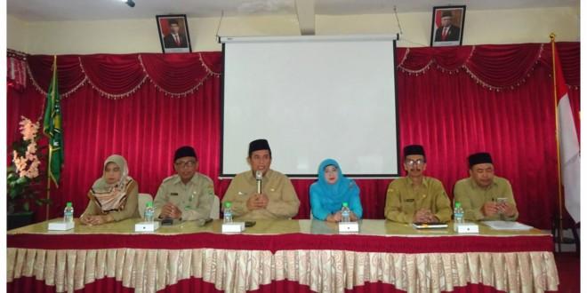 Penandatanganan Pakta Integritas UAMBN-BK MTs Kota Malang