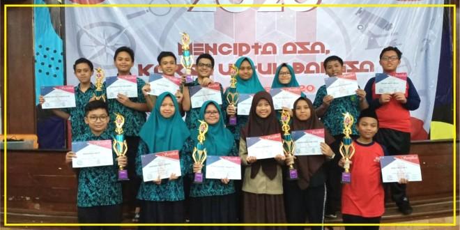 """Siswa MTsN 1 Kota Malang Borong Juara Olimpiade """"MOTION"""" Tingkat Jawa Timur"""