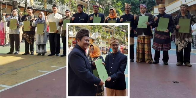 MTsN 1 Kota Malang Terima Penghargaan di Peringatan Hari Sumpah Pemuda