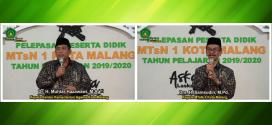 Live Streaming, Pelepasan 380 Siswa MTsN 1 Kota Malang