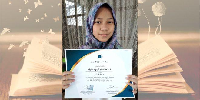 Siswi MTsN 1 Kota Malang Raih Prestasi Lomba Menulis Puisi Tingkat Nasional