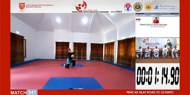Siswa MTsN 1 Kota Malang Raih Juara 1 Turnamen Internasional Pencak Silat