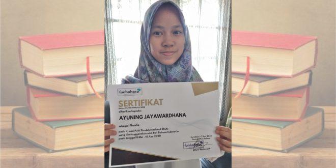 Siswi MTsN 1 Kota Malang Jadi Finalis Lomba Kreasi Puisi Pendek Tingkat Nasional 2020