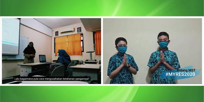 MTsN 1 Kota Malang Raih Dua Prestasi Myres 2020