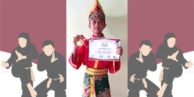 Siswa MTsN 1 Kota Malang Raih Medali Emas Paku Bumi Open Virtual Pencak Silat Championship