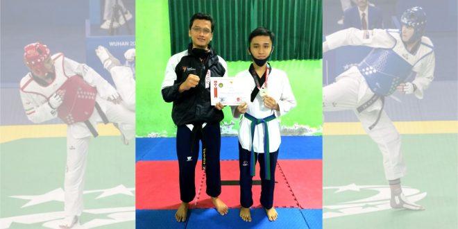 Siswa MTsN 1 Kota Malang Raih Medali Perak Kejurnas Taekwondo
