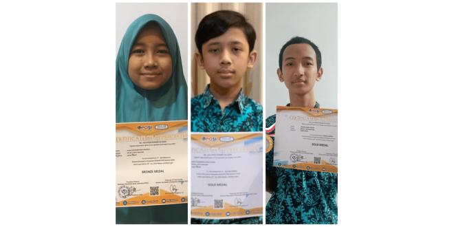 Tiga Siswa MTsN 1 Kota Malang Menuju KSN 2020