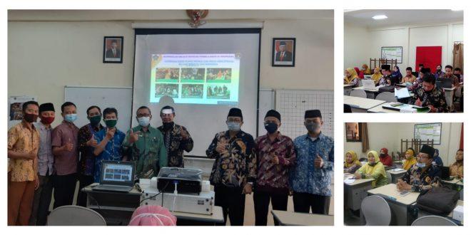 Guru MTsN 1 Kota Malang Ikuti Bimtek Implementasi Pembelajaran Berdasarkan Kurikulum (KMA 183 dan 184)