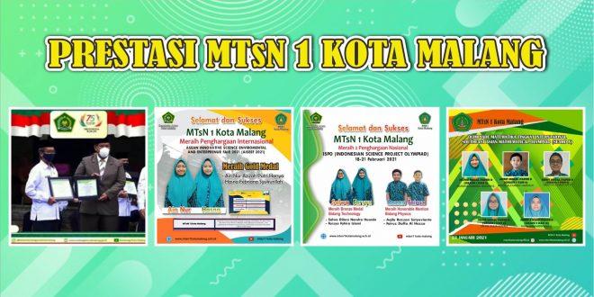 Kurun Waktu 8 Bulan, MTsN 1 Kota Malang Sukses Raih 229 Prestasi
