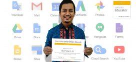 Sayid Ferdian Guru MTsN 1 Kota Malang Peraih Sertifikasi dari Google