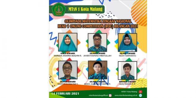 Siswa MTsN 1 Kota Malang Raih Enam Prestasi Olimpiade Matematika Tingkat Nasional