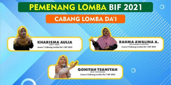 Siswi MTsN 1 Kota Malang Raih Juara 3 Lomba Dai Bhawikarsu Islamic Fair 2021