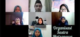 Lewat Bincang Sastra, Ajak Generasi Muda Kenal Sastra