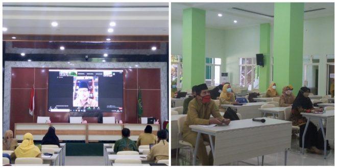 Tingkatkan Kompetensi, Guru MTsN 1 Kota Malang Ikuti Bimtek Pembelajaran Berbasis Literasi dan Numerasi