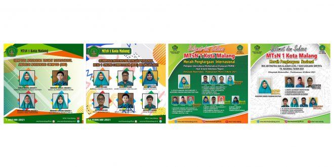 Jelang Akhir Tahun Ajaran, MTsN 1 Kota Malang Sukses Bukukan 268 Prestasi