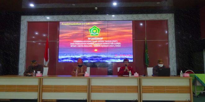 Lokakarya Guru MTsN 1 Kota Malang, Siapkan Materi Pembinaan dan Perangkat Pembelajaran