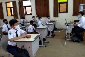 PTMT, MTsN 1 Kota Malang Terapkan Blended Learning