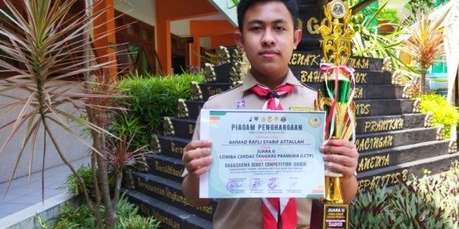 Siswa MTsN 1 Kota Malang Raih Juara 2 Lomba Cerdas Tangkas Pramuka Tingkat Nasional