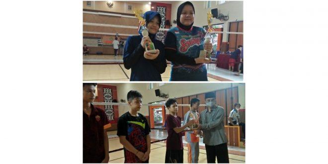 Siswa MTsN 1 Kota Malang Raih Tiga Piala Bulu Tangkis Seleksi Porseni Tingkat Kota